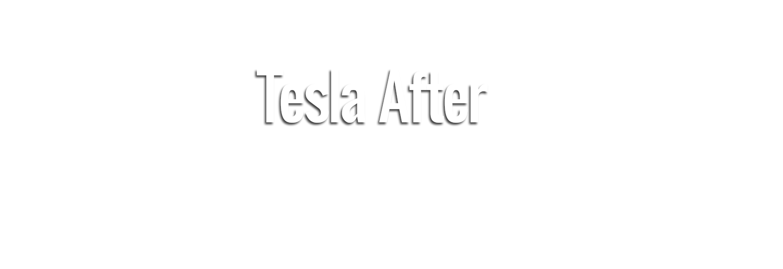Power of excellence Tesla after